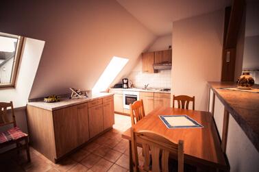 An der Waterkant - Ferienwohnung Küche und Esszimmer