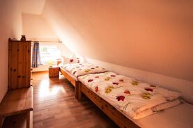 An der Waterkant - Ferienwohnung Schlafzimmer klein