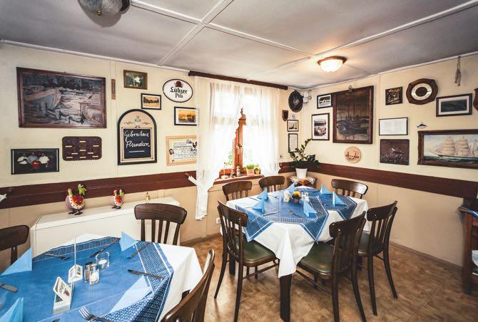Waterkant Freest Restaurant Innenansicht